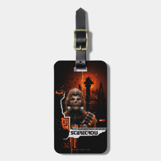 Scarecrow Orange Graphic Luggage Tag