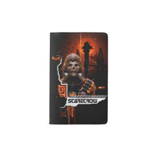 Scarecrow Orange Graphic Pocket Moleskine Notebook