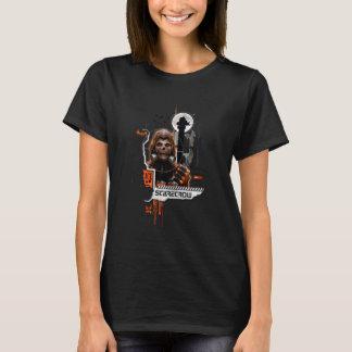 Scarecrow Orange Graphic T-Shirt