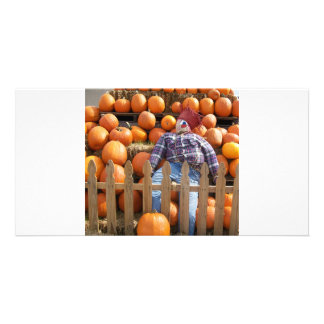 ScareCrow Custom Photo Card