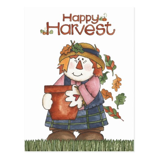 Scarecrow Post Card