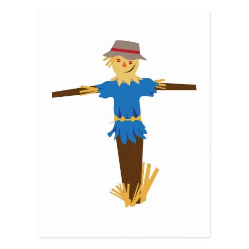 Scarecrow Postcard