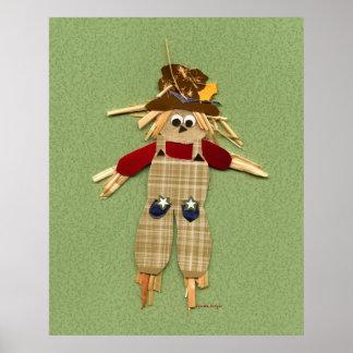 Scarecrow Poster Print