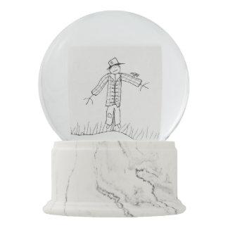 Scarecrow Snow Globe. Snow Globe