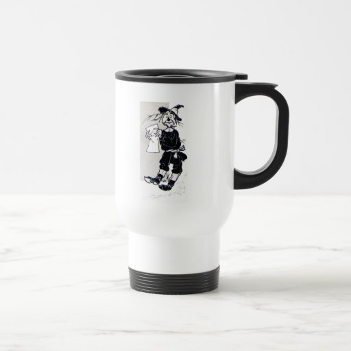Scarecrow Stainless Steel Travel Mug