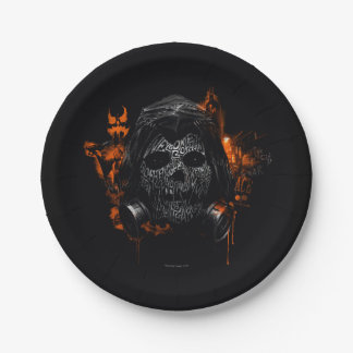 Scarecrow - Welcome To Gotham City 7 Inch Paper Plate