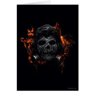 Scarecrow - Welcome To Gotham City Greeting Card