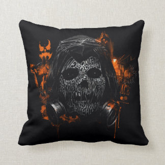 Scarecrow - Welcome To Gotham City Throw Pillow