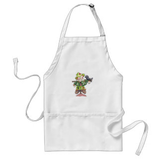 SCARECROW WITH CROW STANDARD APRON