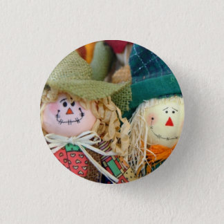 Scarecrows 3 Cm Round Badge