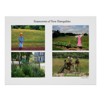 Scarecrows of NH Poster