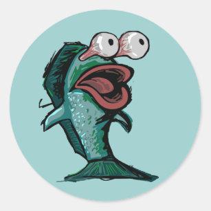 Fishing Stickers & Labels   Zazzle UK