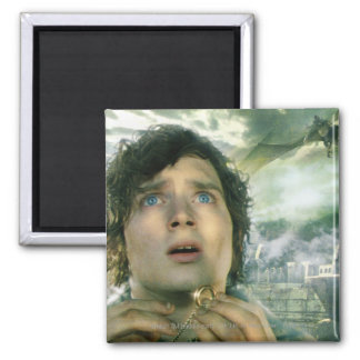 Scared FRODO™ Holding Ring Square Magnet