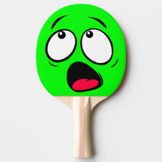 Scared Green Dayglow Emoji