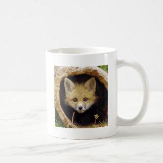 Scared Little Fox Mugs