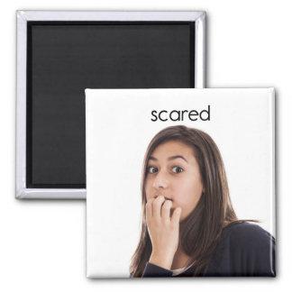 Scared Refrigerator Magnet
