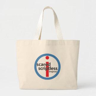 Scared Scriptless Round Stamp Logo Bag