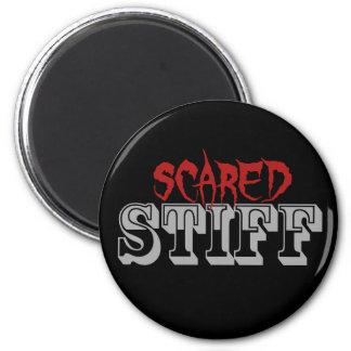 Scared Stiff Buttons 6 Cm Round Magnet