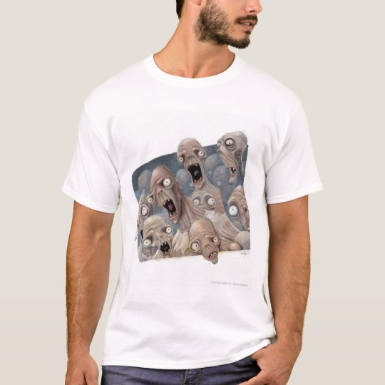 scared_zombies T-Shirt