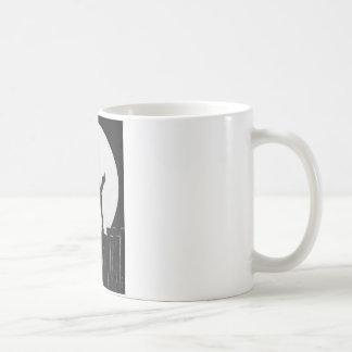 Scaredy Cat Basic White Mug