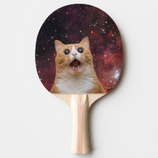 scaredy cat in space ping pong paddle