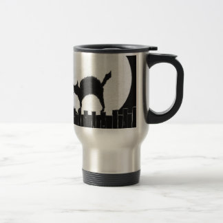 Scaredy Cat Stainless Steel Travel Mug