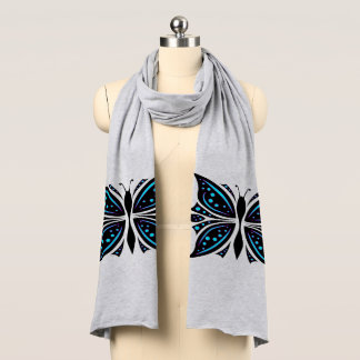 Scarf Butterfly Abstract
