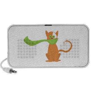 Scarf Cat iPod Speakers