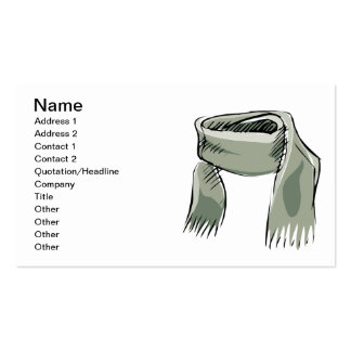 Scarf Pack Of Standard Business Cards