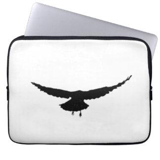 "Scaring Crows Neoprene Laptop Case 13"" Plain Logo"