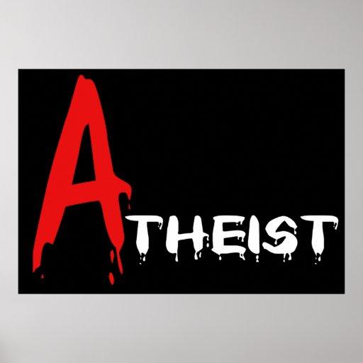 Scarlet Atheist Poster