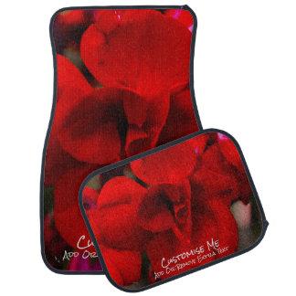 Scarlet Begonias Car Mat