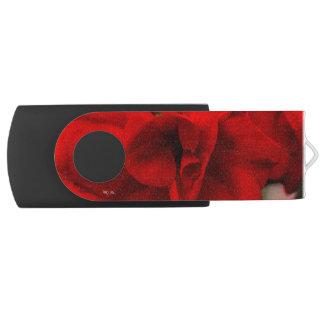 Scarlet Begonias USB Flash Drive