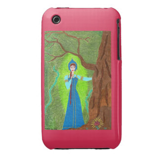 Scarlet Flower iPhone 3G Case-Mate iPhone 3 Case