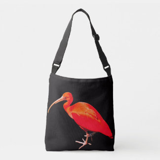 Scarlet Ibis Crossbody Bag