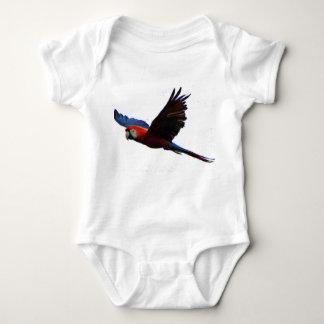 Scarlet Macaw Baby Bodysuit