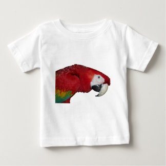 Scarlet Macaw Baby T-Shirt