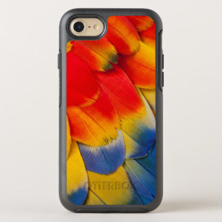 Scarlet Macaw Covert Feathers OtterBox Symmetry iPhone 8/7 Case