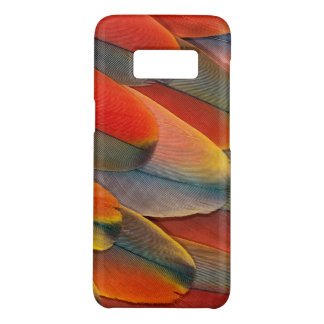 Scarlet Macaw Feather Close-Up Case-Mate Samsung Galaxy S8 Case