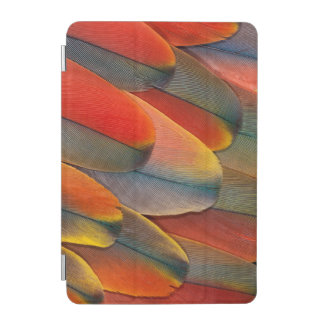 Scarlet Macaw Feather Close-Up iPad Mini Cover