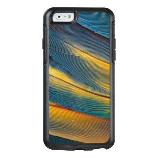 Scarlet Macaw feather close up OtterBox iPhone 6/6s Case