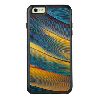 Scarlet Macaw feather close up OtterBox iPhone 6/6s Plus Case