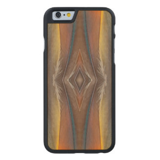 Scarlet Macaw feather design Carved® Maple iPhone 6 Case