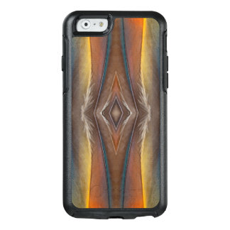 Scarlet Macaw feather design OtterBox iPhone 6/6s Case