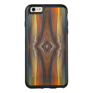 Scarlet Macaw feather design OtterBox iPhone 6/6s Plus Case