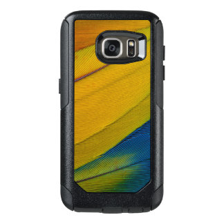 Scarlet Macaw Feathers Close-Up OtterBox Samsung Galaxy S7 Case