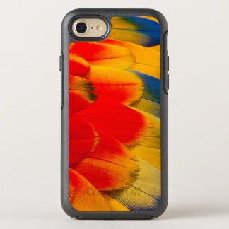 Scarlet Macaw Feathers OtterBox Symmetry iPhone 8/7 Case