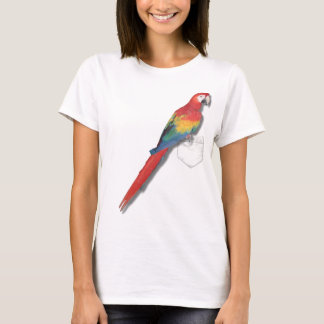 Scarlet macaw In Your Pocket T-Shirt