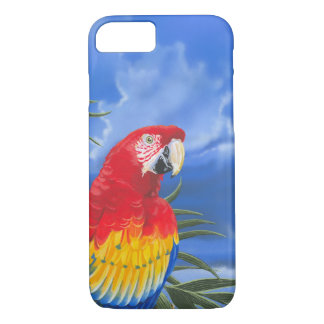 Scarlet Macaw iPhone 7 Case