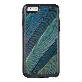 Scarlet macaw parrot feather OtterBox iPhone 6/6s case
